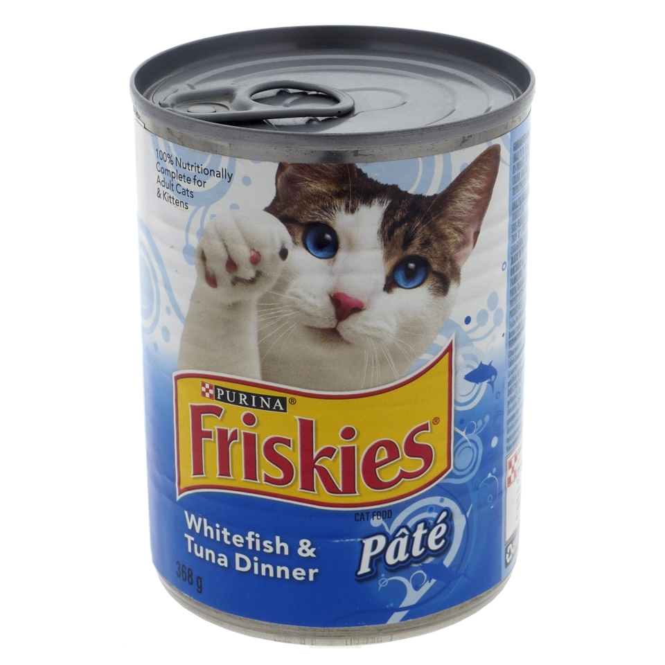 Friskies Cat Food - Whitefish & Tuna Dinner