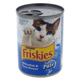 Friskies Cat Food - Whitefish & Tuna Dinner - 0