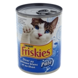 Friskies Cat Food - Whitefish & Tuna Dinner - 1