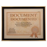 "8.5""x11"" Document Frame with Metallic Trim (Assorted colours) - 0"