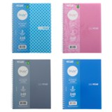 Side Spiral Notebook (Assorted Colours and Designs) - 1