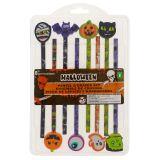 Halloween 8pk Pencil with Eraser - 0