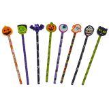 Halloween 8pk Pencil with Eraser - 1