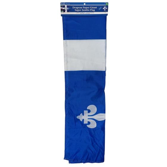 Quebec Super Jumbo Souvenir Flag