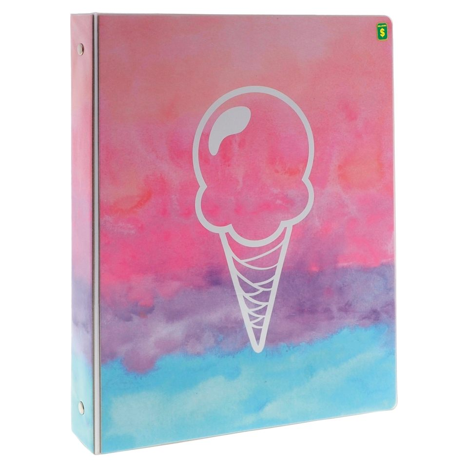 "1"" 3-Ring Binder with Printed Cover"