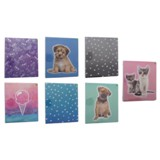 "1"" 3-Ring Binder with Printed Cover (Assorted Collection) - 1"