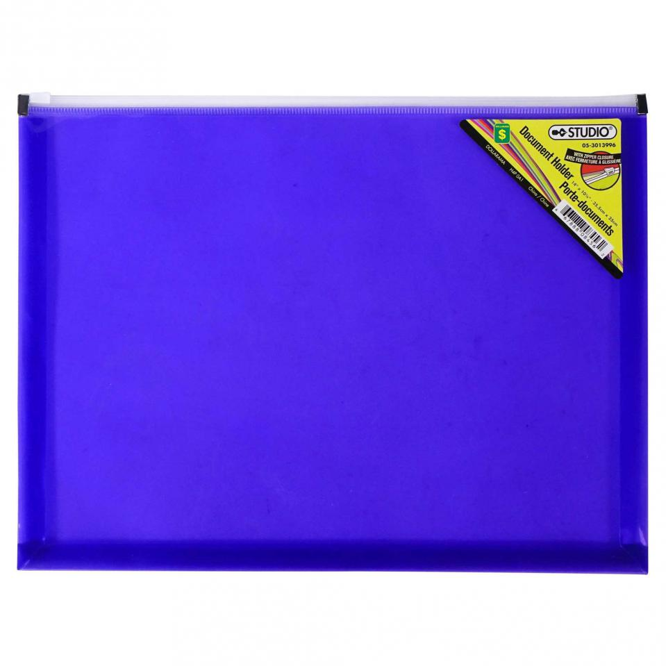 Porte-documents en plastique (Couleurs assorties)