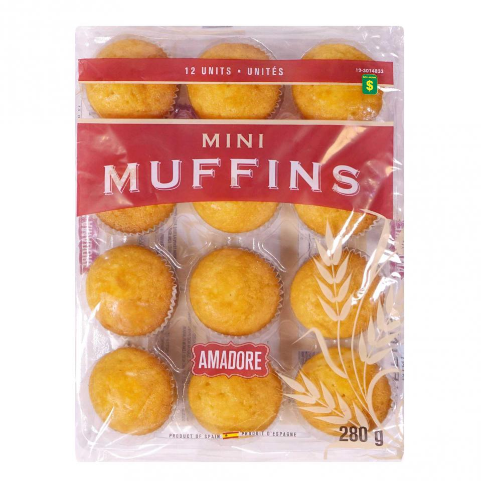12 Mini muffins