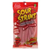 Sour Strawberry Straws - 0