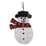 Hanging Tinsel Christmas Figures - 1
