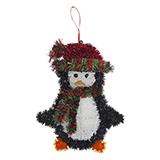 Hanging Tinsel Christmas Figures - 2