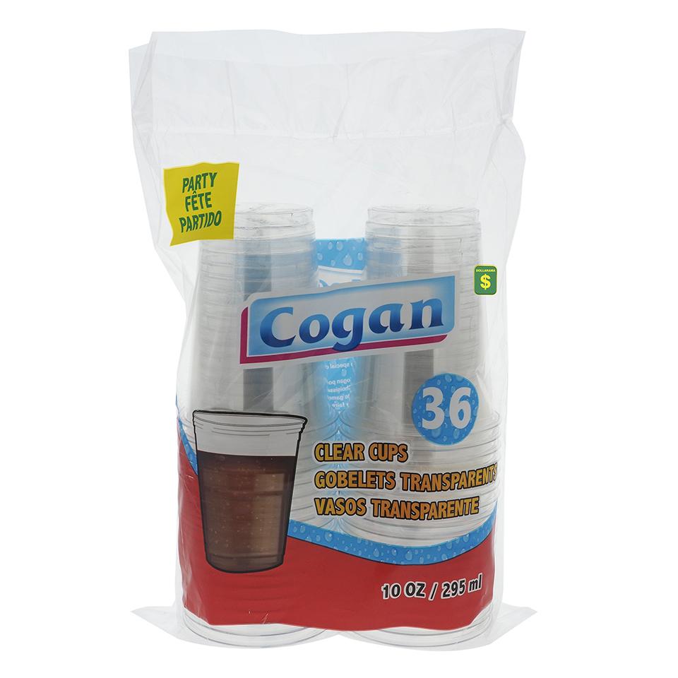 36PK Plastic Cups