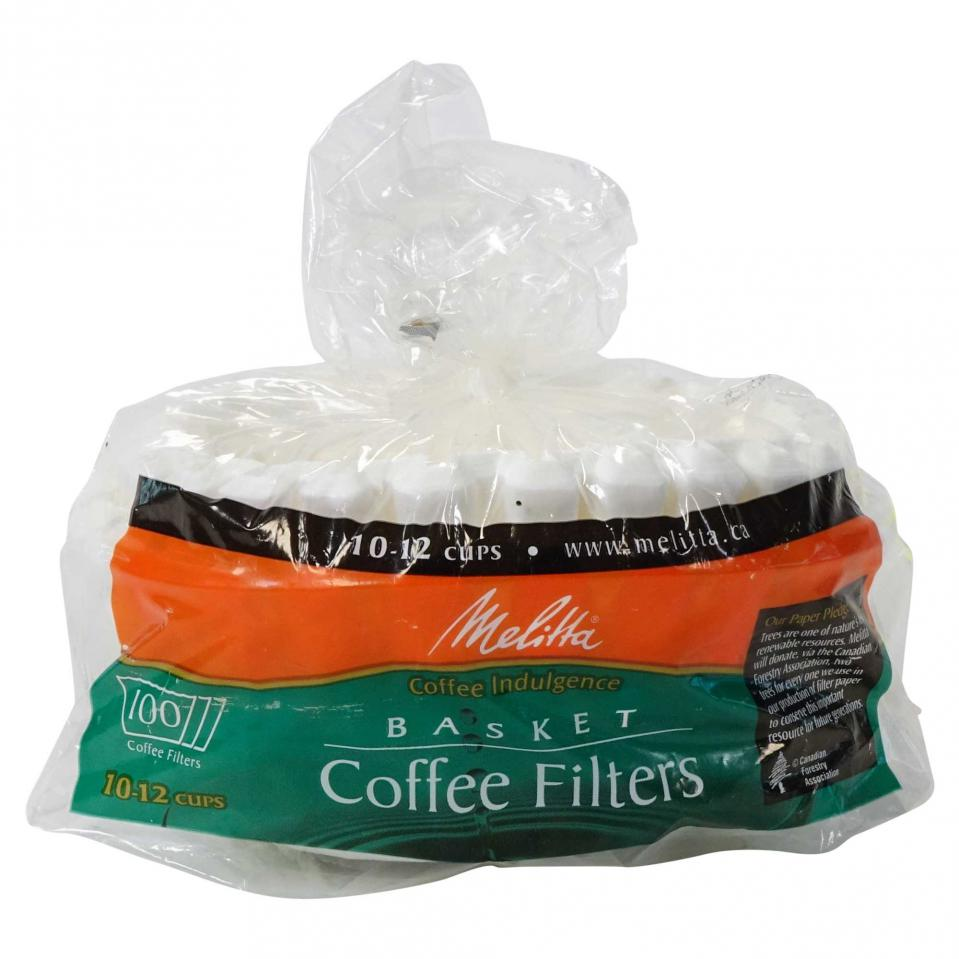 100PK Basket Coffee Filters