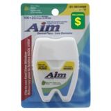 Mint Wax Nylon Dental Floss - 0