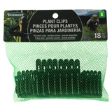 18Pk Plant Clips: 8 Big And 10 Small - 0
