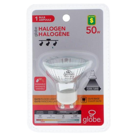 Ampoule halogène GU10 50W