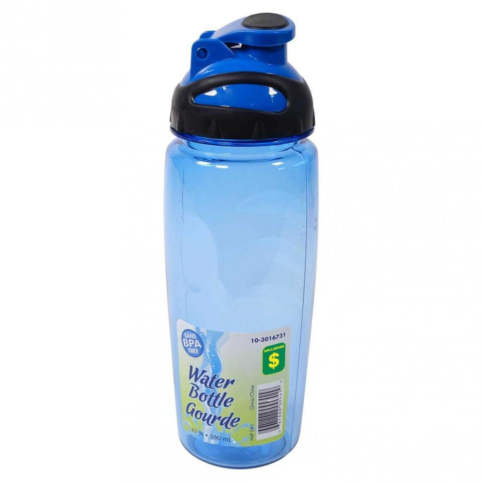 Water Bottle (Assorted Colours) - Case of 24