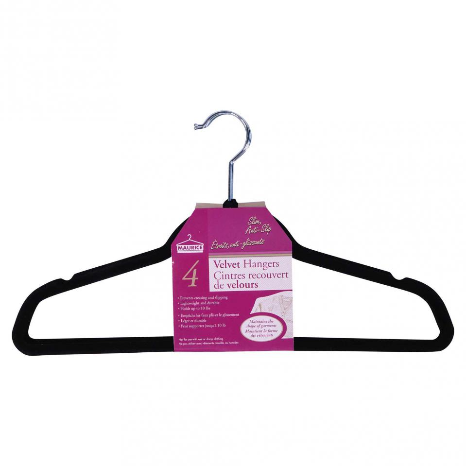 Velvet Hangers 4PK
