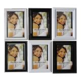 4''x6'' Plastic Photo Frame (Assorted Styles and Colours) - 1