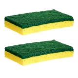 2PK Cellulose Scrub Sponges for tough surfaces - 1