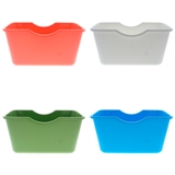 Storage Plastic Basket (Assorted Colours) - 1