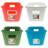 Storage Plastic Basket (Assorted Colours) - 2