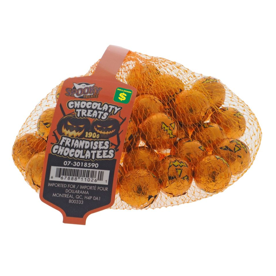 Compound Chocolate Balls In Net Bag