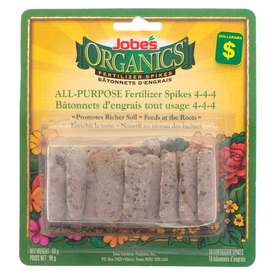 18Pk Organic Fertilizer Spikes