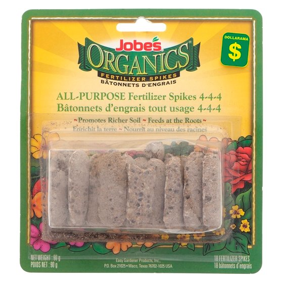 18Pk Organic Fertilizer Spikes