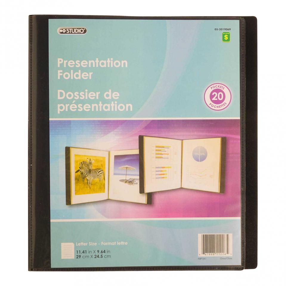Presentation Folder (Assorted Colours)