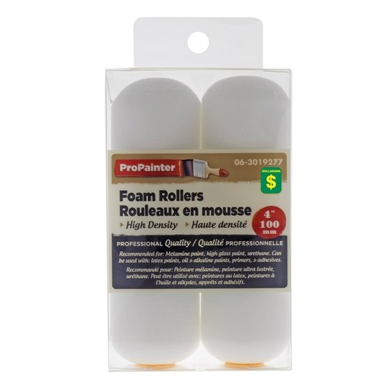 Small Foam Paint Rollers 2PK