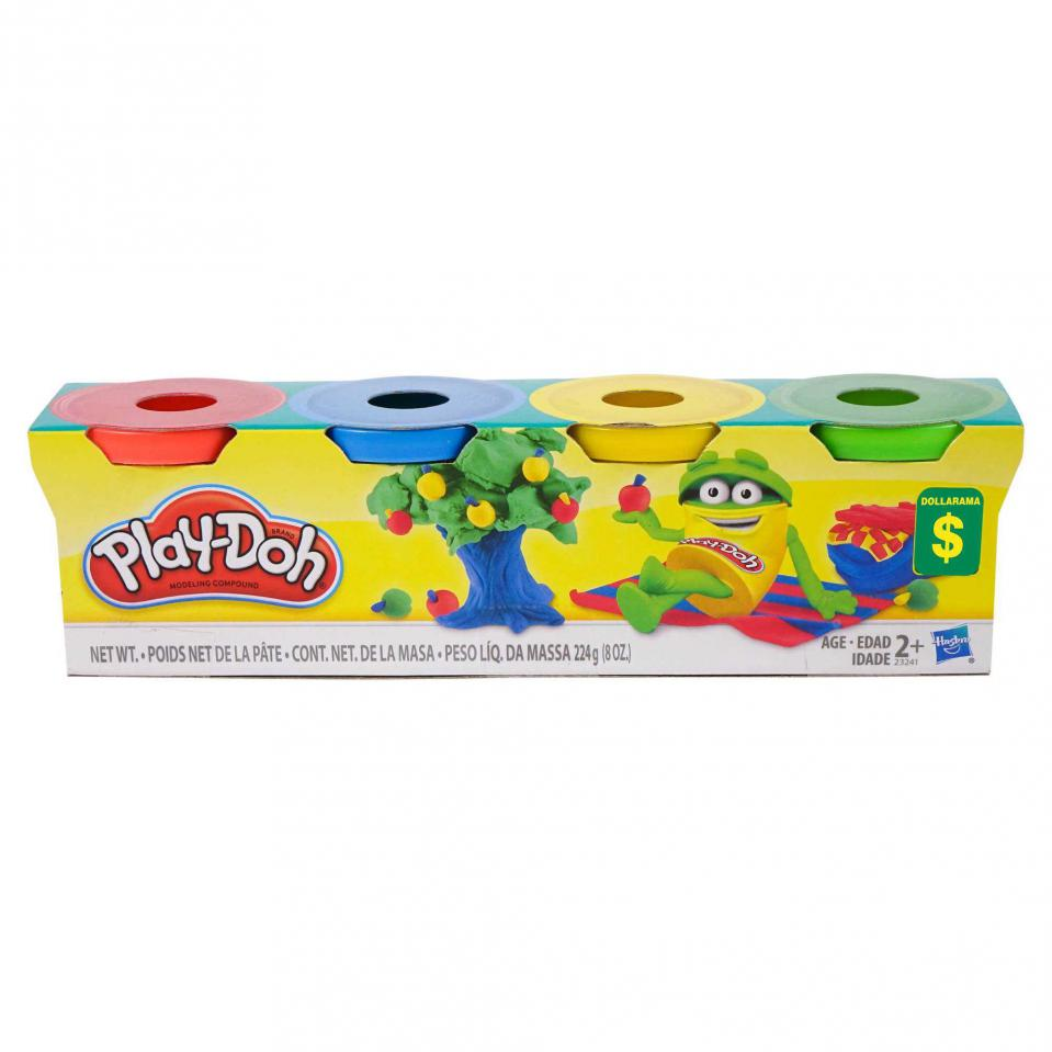 4PC Modelling Clay Set (Assorted colours)