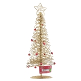 Glittered Tree With Star Tabletop Decoration - 3