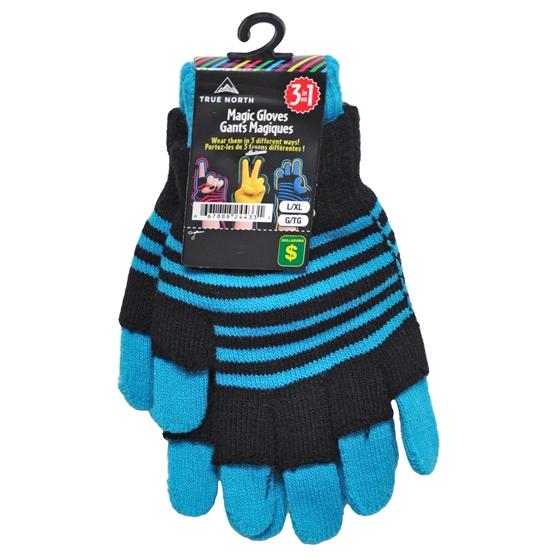 3 in 1 Magic Gloves in Neon Color