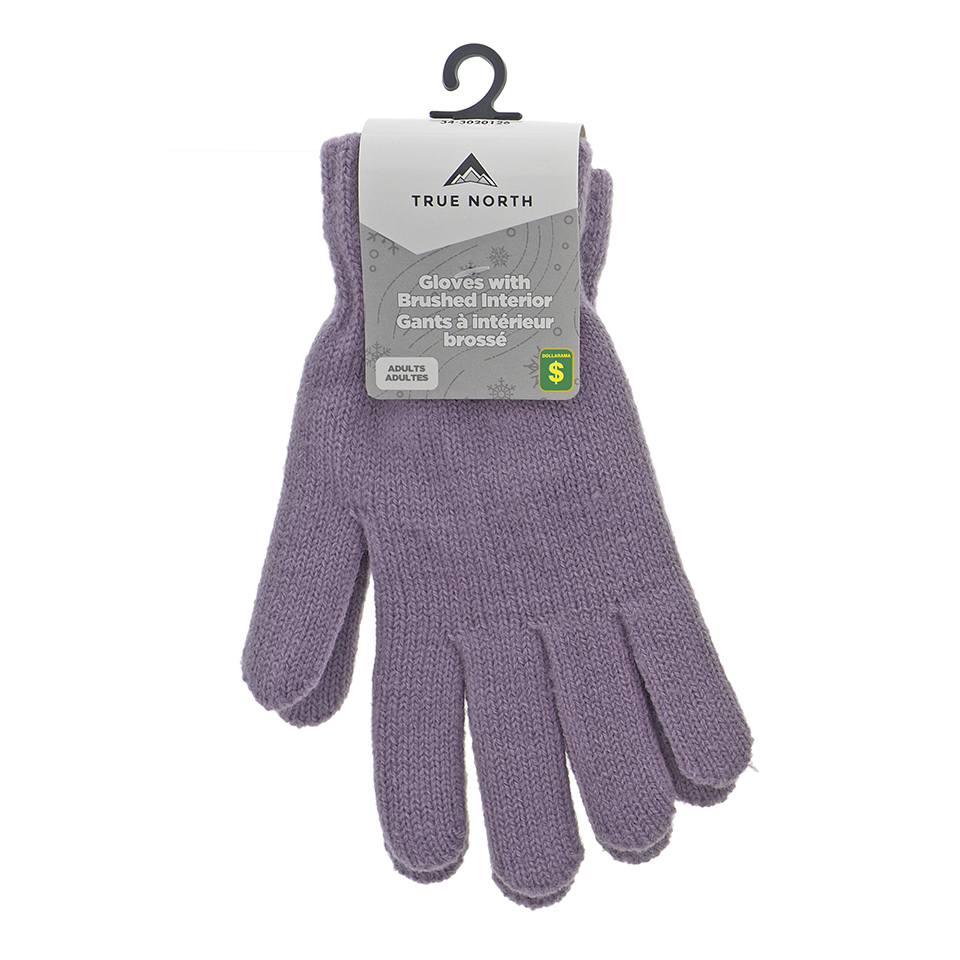 Lady's acrylic Knit Gloves