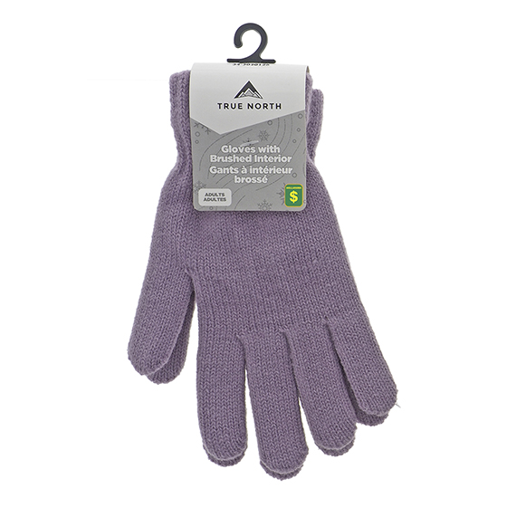 Lady's acrylic Knit Gloves