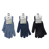 Lady's acrylic Knit Gloves - 1