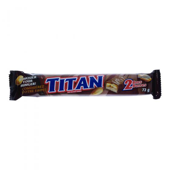 2PK TITAN Chocolate Bars