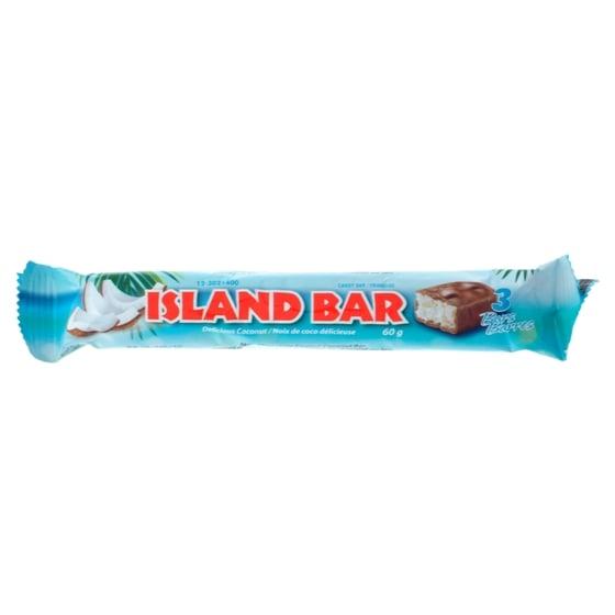 3 Barres de chocolat à la noix de coco ISLAND