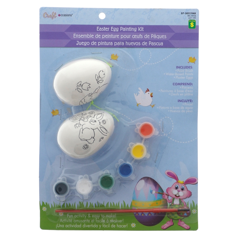2Pk Easter Egg Painting Set