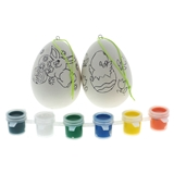 2Pk Easter Egg Painting Set - 1