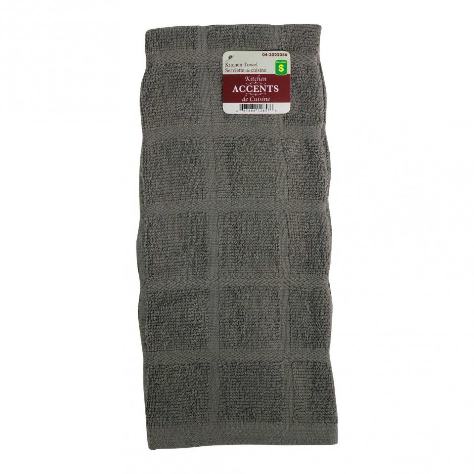 Cotton Terry Kitchen Towel (Assorted colours)