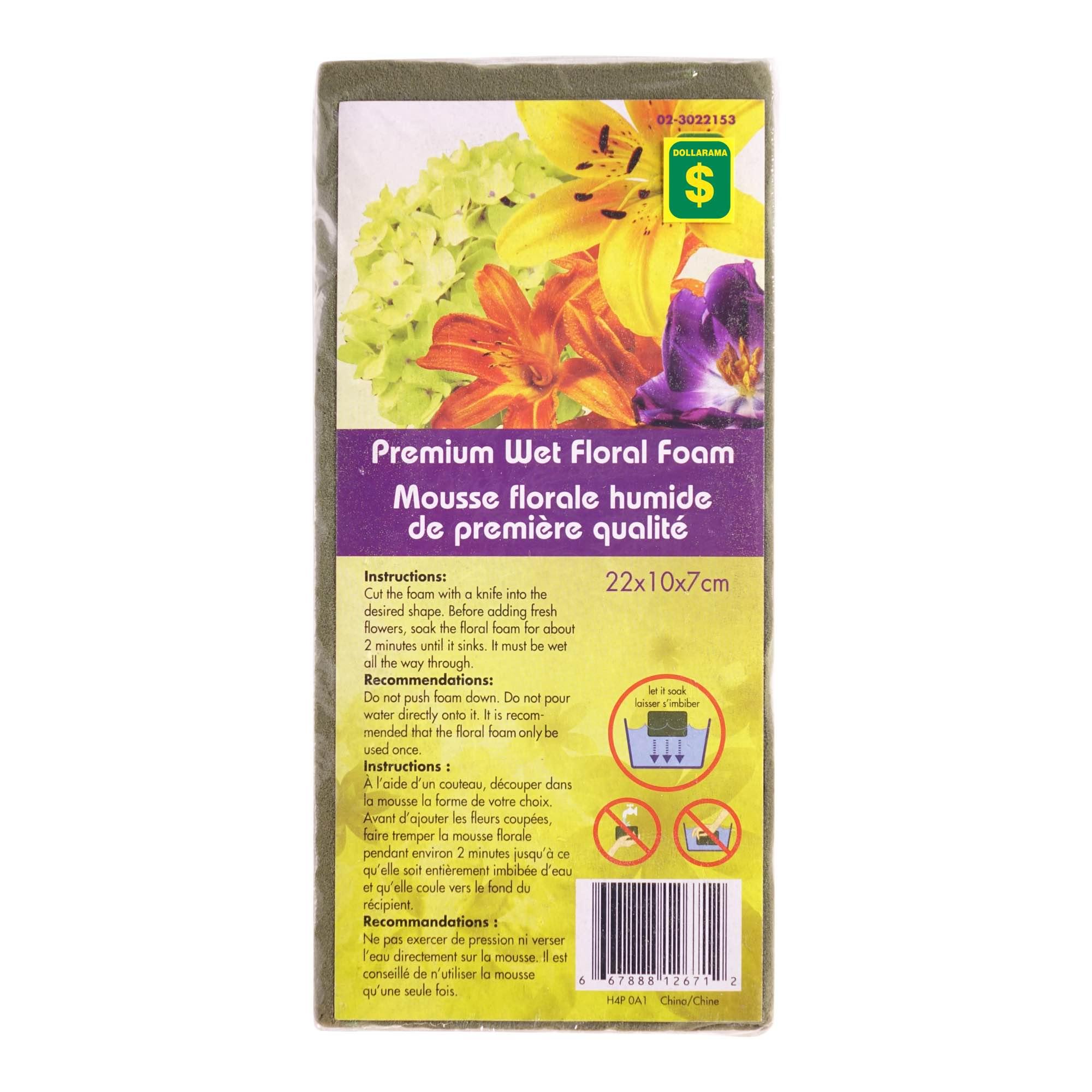 Ou Acheter De La Mousse Pour Piquer Des Fleurs mousse florale humide de première qualité