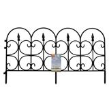 Ornate Plastic Garden Fence - 0