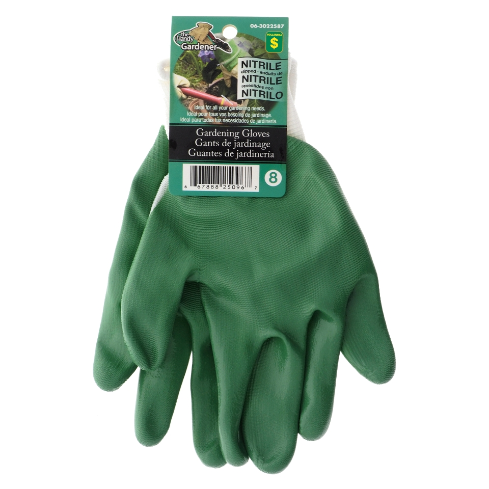 Women's Nitrile Coated Garden Gloves (Assorted colours)