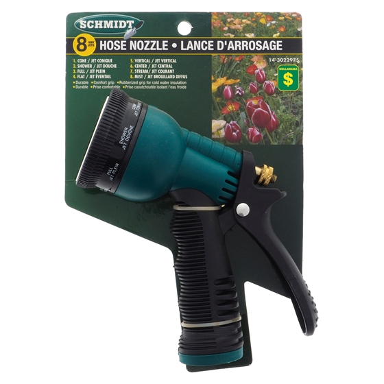8-Way Hose Spray Nozzle