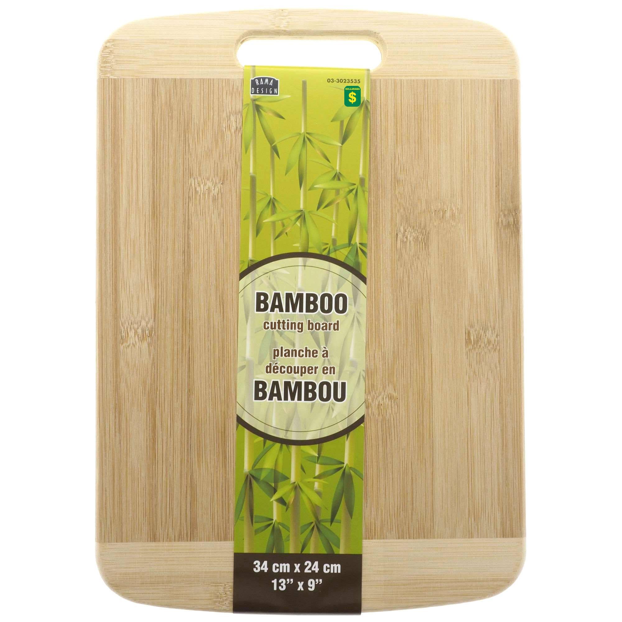 Bamboo Cutting Board Dollarama