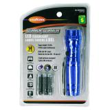 Aluminum LED Flashlight (Assorted Colours) - 0