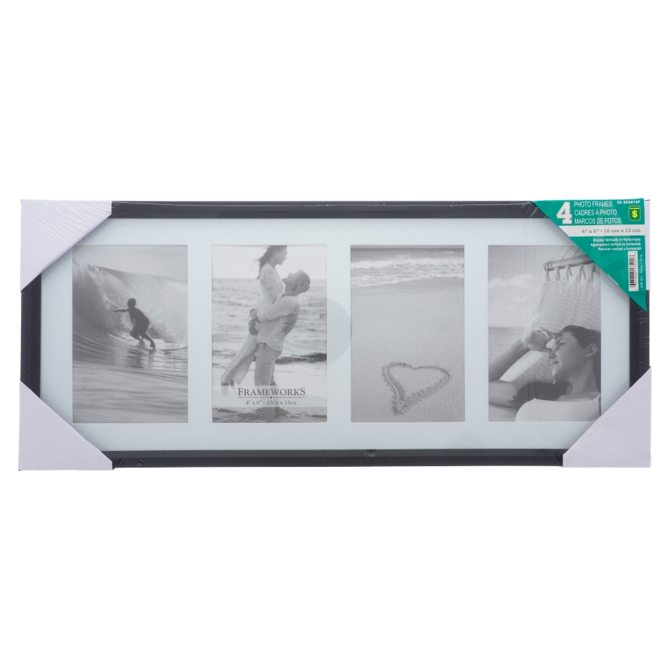 4 Photo Frame (Assorted Colours)