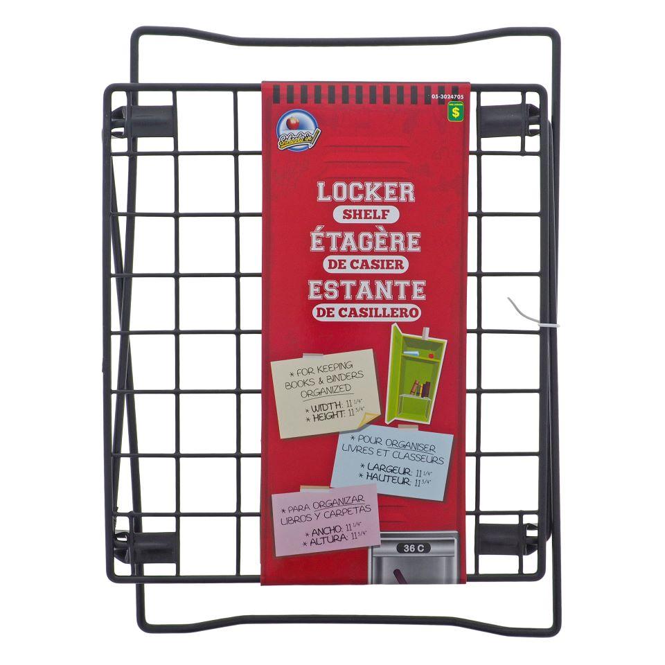 PVC Coated Wire Frame Locker Shelf